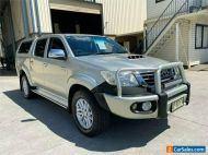 2012 Toyota Hilux KUN26R SR5 Silver Automatic A Utility