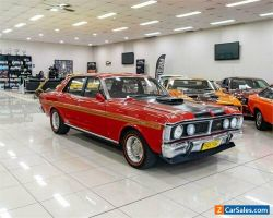 1970 Ford Falcon XY GT Track Red Automatic 3sp A Sedan