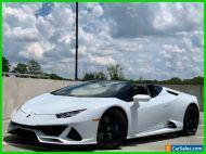 2020 Lamborghini Huracan Huracan LP 640-4 EVO Spyder