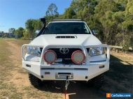 2011 Toyota Hilux KUN26R Workmate White Manual M Cab Chassis