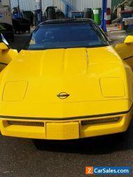 classic C4 Corvette 1989