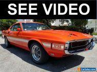 1969 Shelby Cobra Shelby GT350 Cobra Fastback