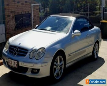 Mercedes Benz CLK500 Cabriolet, Silver, 6cly, 7speed auto for Sale