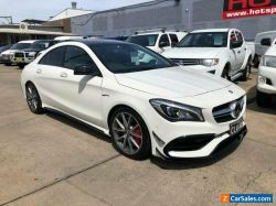 2016 Mercedes-Benz CLA-Class C117 CLA45 AMG White Automatic A Coupe