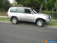 2004 TOYOTA LANDCRUISER  100 SERIES SAHARA V8 AUTO DAMAGED