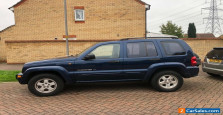 2002/52 JEEP CHEROKEE 3.7 LTD AUTO 5DR BLUE LEATHER AC ALLOYS 99K PSH