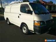 2002 Toyota HiAce RZH113R White Automatic A Van