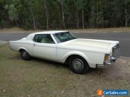 1971 LINCOLN CONTINENTAL MK3 2 DOOR COUPE 460 C6 GEARVENDOR OD 99.9% RUST FREE