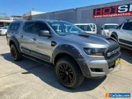2016 Ford Ranger PX MkII XL Silver Automatic A Utility