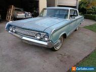"1964 MERCURY PARKLANE 2 DOOR HARDTOP 390 4V AUTO 9"" RUNS ! 99% RUST FREE GALAXIE"