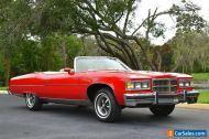 1975 Pontiac Grandville Brougham Convertible only 69k Original Miles! Must See!