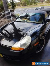 2001 Porsche boxster 986 metallic black manual super fun low kms