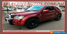 2008 Suzuki Grand Vitara JT MY08 Upgrade (4x4) Burgundy Automatic 4sp A Wagon