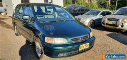 1998 Honda Odyssey (7 Seat) Green Automatic 4sp A Wagon
