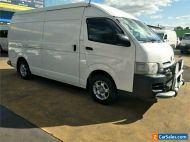 2009 Toyota HiAce KDH221R Automatic A Van