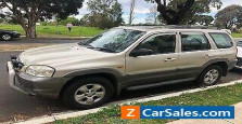 2004 Mazda Tribute 4WD Classic Wagon Car - Automatic - Unleaded  - Gold Colour