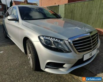 MERCEDES S300L HYBRID DIESEL AMG LINE LWB AUTO DAMAGED REPAIRED 2014 for Sale