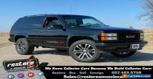 "1995 GMC Yukon GT Sport 2dr - 4x4, 5.7L - V8, 20"" Wheels, Mint for Sale"