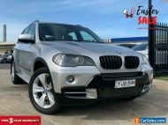 2009 BMW X5 E70 xDrive30d Wagon 5dr Steptronic 6sp 4x4 3.0DT [MY09] Silver A