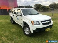 2011 Holden Colorado RC MY11 LX (4x2) White Automatic 4sp A Crew Cab P/Up