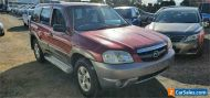 2001 Mazda Tribute Limited Maroon Automatic 4sp A Wagon
