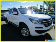 2016 Holden Colorado RG MY16 LS (4x4) White Automatic 6sp A Crew Cab P/Up