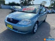 2002 Toyota Corolla ZZE122R Conquest Seca Grey Automatic 4sp A Hatchback