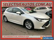 2019 Toyota Corolla Mzea12R Ascent Sport White Automatic A Hatchback