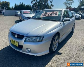 2005 Holden Commodore VZ SV6 Silver Automatic 5sp A Sedan for Sale