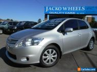 2011 Toyota Corolla ZRE152R MY11 Ascent Silver Automatic 4sp A Hatchback