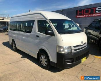 2008 Toyota HiAce KDH223R Commuter White Manual M Bus for Sale
