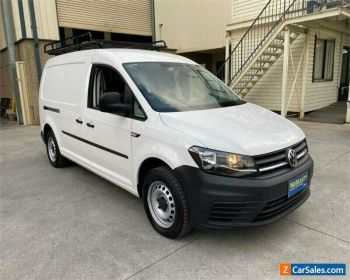 2017 Volkswagen Caddy 2KN TDI250 White Automatic A Van for Sale