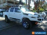 2014 Toyota Hilux KUN26R MY12 SR5 (4x4) White Manual 5sp M Dual Cab Pick-up