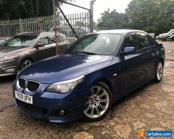 09 BMW 520D 2.0D M SPORT 177 BHP LEATHER, CLIMATE, ALLOYS, CRUISE, 7 SERVICES for Sale