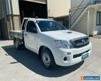 2011 Toyota Hilux KUN16R SR White Manual M Cab Chassis for Sale