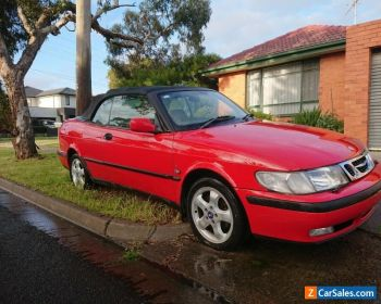 2001 SAAB 9-3 CONVERTABLE for Sale