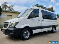 2014 Mercedes-Benz Sprinter 319CDI White Automatic 7sp A Van