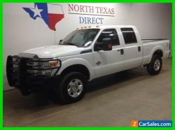 2012 Ford F-250 FREE DELIVERY XLT 4x4 Diesel Crew Ranch Hand Alloy