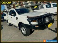 2015 Ford Ranger PX MkII XL 3.2 (4x4) White Automatic 6sp A Crew Cab Utility
