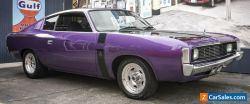 1976 Chrysler Valiant Charger!