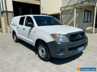 2010 Toyota Hilux TGN16R Workmate White Manual M Utility