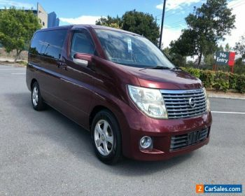 2005 Nissan Elgrand E51 Series 2 Red Automatic 5sp A Wagon for Sale