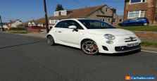 Fiat Abarth 500 (2010) White 1.4 Turbo (Stunning Car) £1100 Just spent!! 48K Mil