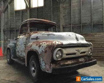 1956 Ford F100 Project Pickup Truck for Sale