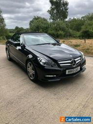 Mercedes E350 Sport CDI Convertible 1 Owner with 27,000 miles & FSH
