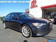 2014 Audi A6 2014 Audi A6 2.0T Premium AWD Moonlight Blue
