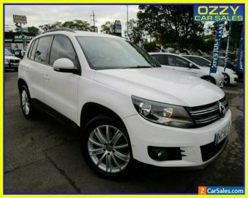 2012 Volkswagen Tiguan 5NC MY12 132 TSI Pacific White Automatic 6sp A Wagon for Sale
