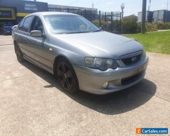 2002 Ford Ba xr6 Automatic Sedan for Sale