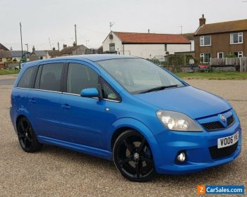2006 Vauxhall zafira vxr 94k mileage part exchange welcome for Sale