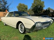 Ford Thunderbird 1962, amazing example, restored years ago, and still stunning